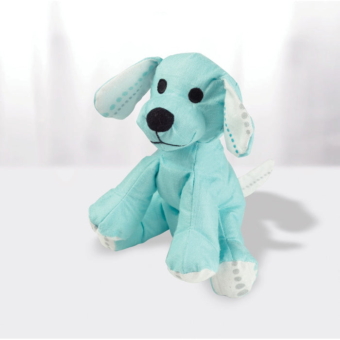 Aden and Anais | Bamboo Musy Mate Mini Puppy Azure Solid Aqua