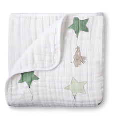 Aden and Anais - Classic Dream Blanket Up Up & Away Elephant