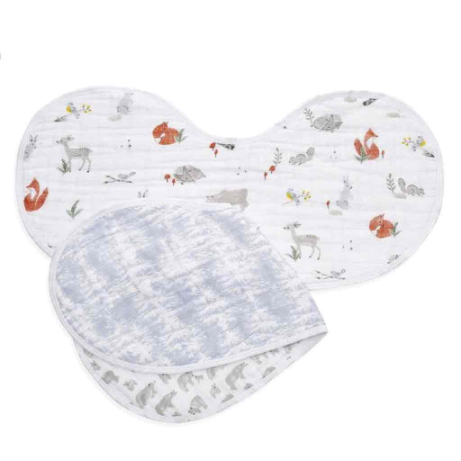 Aden and Anais Classic Burpy Bibs 2-pack Naturally