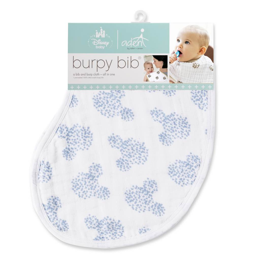Aden By Aden And Anais Burpy Bib Single Disney Mickey
