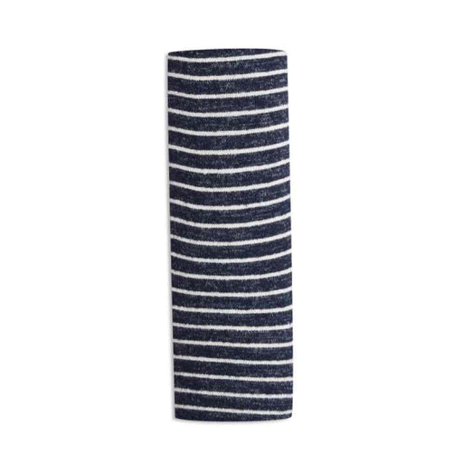 Aden and Anais Comfort Knit Blanket Navy Stripe 0-3M