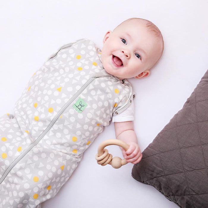 ergoPouch - 1.0 tog Cocoon Swaddle & Sleep Bag Triangle Pop