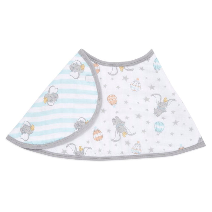 Aden and Anais Essentials Burpy Bib Single Disney Dumbo