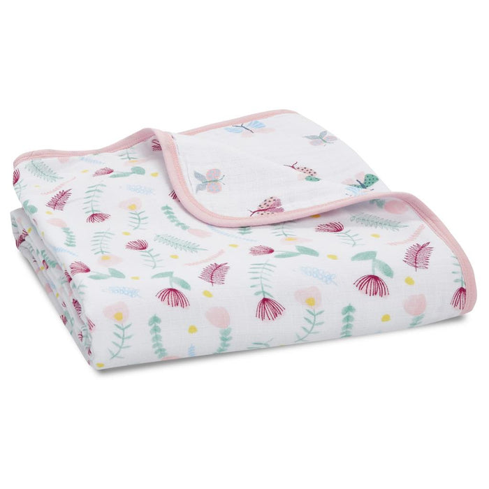 Aden and Anais Essentials Dream Blanket Floral Fauna