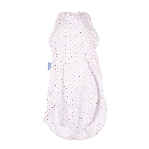 Gro Company - Swaddle Grobag 2 in 1 Light Rainbow Spot Newborn