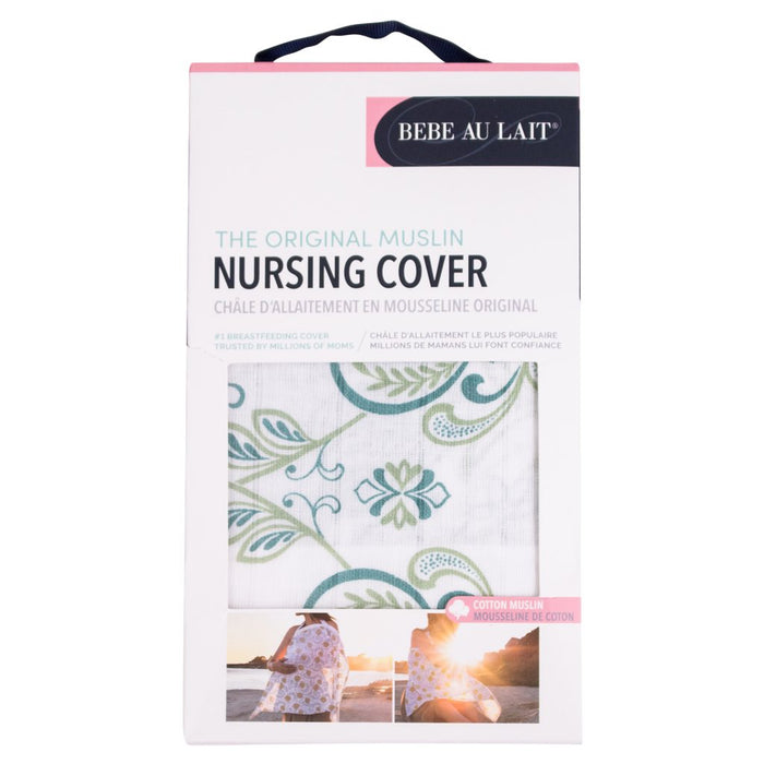 Bebe Au Lait - Nursing Cover Muslin Cotton Isla