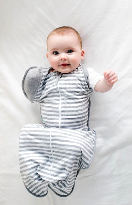 Love To Dream - 1.0 tog Swaddle UP 50/50 Grey