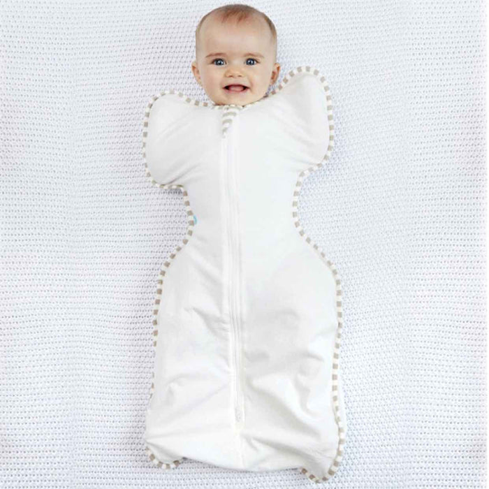 Love To Dream - 1.0 tog Swaddle UP Organic GOTS Certified Cream