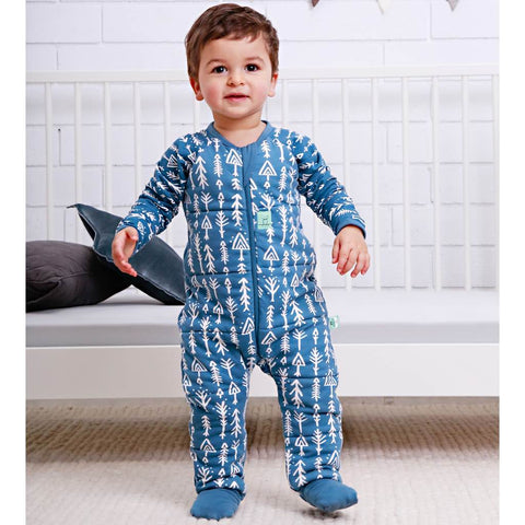 ergoPouch 2.5 tog Winter Layers SleepSuit Midnight Arrow