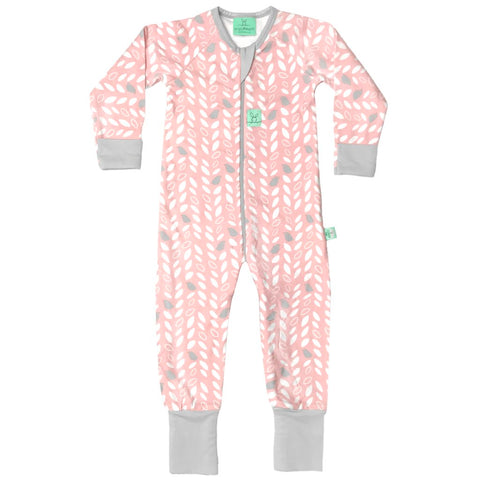 ergoPouch - 1.0 tog Layers Sleep Wear Long Sleeve Spring Leaves