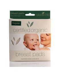 Nature's Child Organic Breast Pads Pack of 6