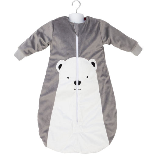 Baby Studio - 3.0 tog Fleece Warmies Bag with Arms Polar Bear