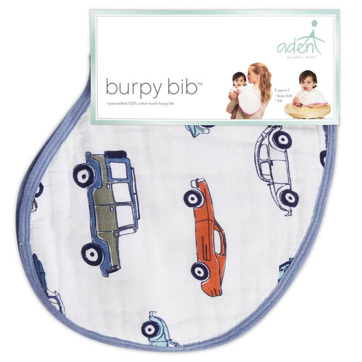 Aden by Aden and Anais - Burpy Bib single Hit the Road