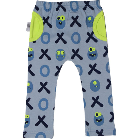 Sookibaby - Half-Moon Pocket Leggings Naughts and Crosses