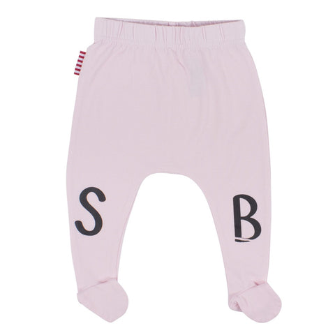 Sookibaby - SB Footed Leggings in Pink