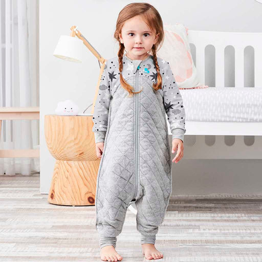 Love To Dream - 3.5 tog Love To Dream Sleep Suit Grey