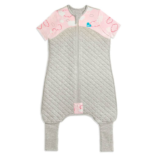 Love To Dream - 1.0 tog Love To Dream Sleep Suit Clouds Pink