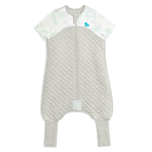 Love To Dream - 1.0 tog Love To Dream Sleep Suit Clouds White