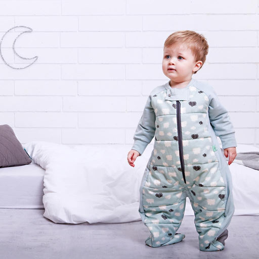 ergoPouch - 2.5 tog Sleepsuit Bag Mint Clouds