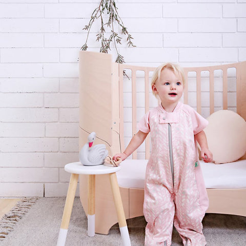 ergoPouch - 1.0 tog Sleep Suit Bag Spring Leaves