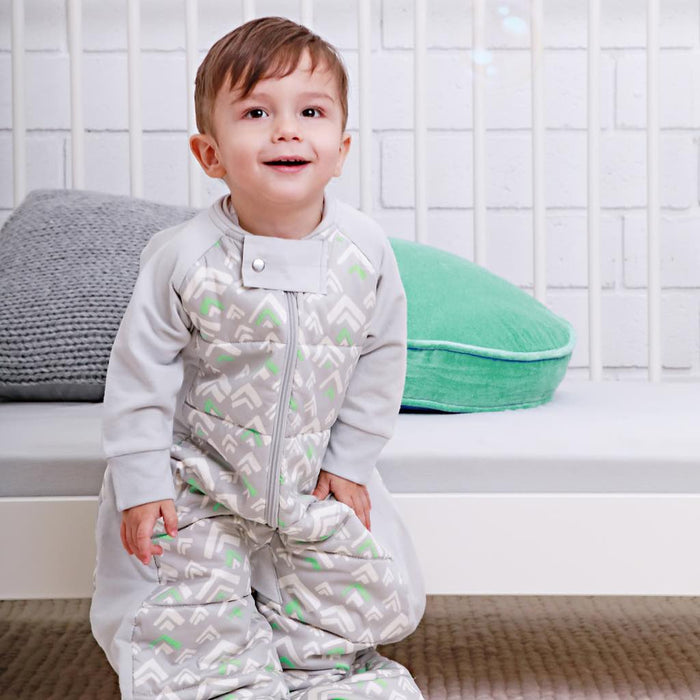 ergoPouch - 2.5 tog Sleepsuit Bag Grey Mountains