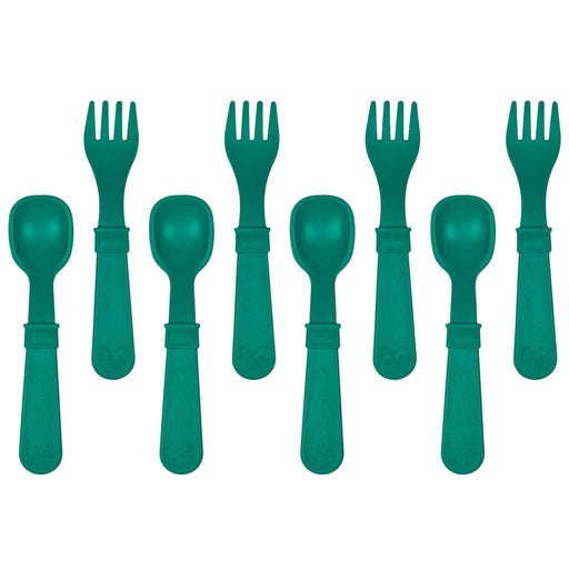 Re-Play Toddler Utensils Teal