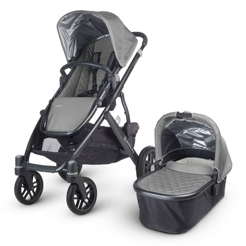 UPPAbaby | VISTA 2015 Stroller with Bassinet Grey/Graphite (Pascal)