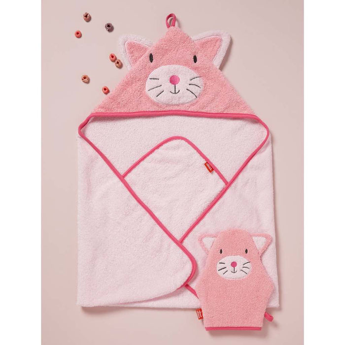 Weegoamigo - Weego Colourplay Hooded Towel Kitten