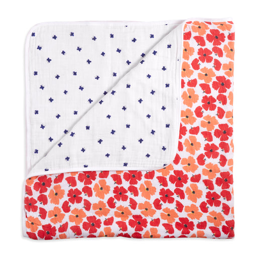 Aden and Anais  White Label Dream Blanket Flora