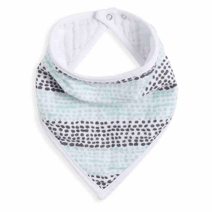 Aden and Anais White Label Classic Bandana Bib Seaside