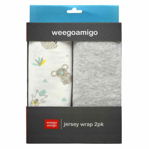 Weegoamigo Jersey Wrap 2PK Blinky 100% Cotton