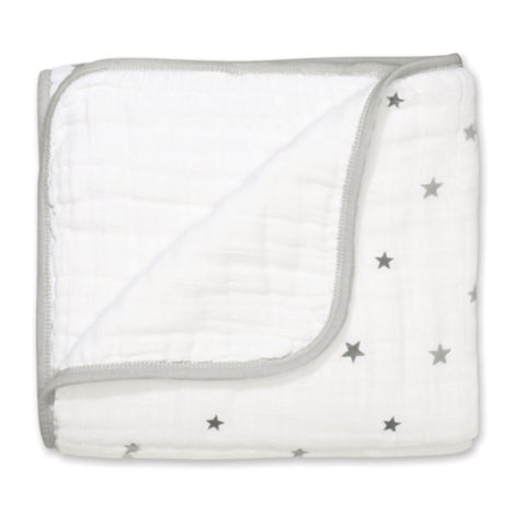 Aden and Anais - Classic Dream Blanket Twinkle + White