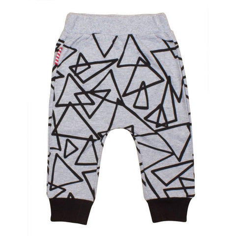 Sookibaby - Sweat Pants Boys Abstract Black
