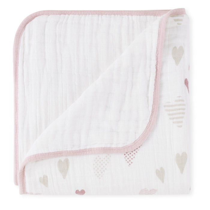 Aden and Anais - Classic Dream Blanket Heartbreaker