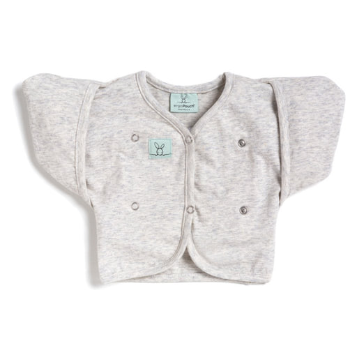 ergoPouch - 0.2 tog Butterfly Cardi Grey Marle 2-6M