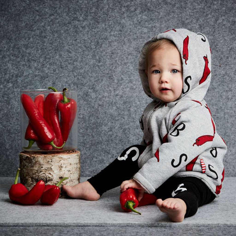 Sookibaby - Reversible Padded Jacket Chilli