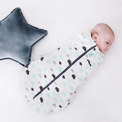 ergoPouch - 2.5 tog Swaddle & Sleep Bag ergoCocoon Clouds
