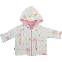 Sookibaby - Reversible Jacket Cloudy with Rainbows