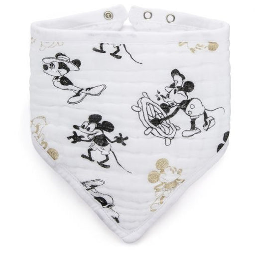 Aden and Anais Classic Bandana Bib Metallic Disney Mickey Mouse's 90th Anniversary Limited Edition