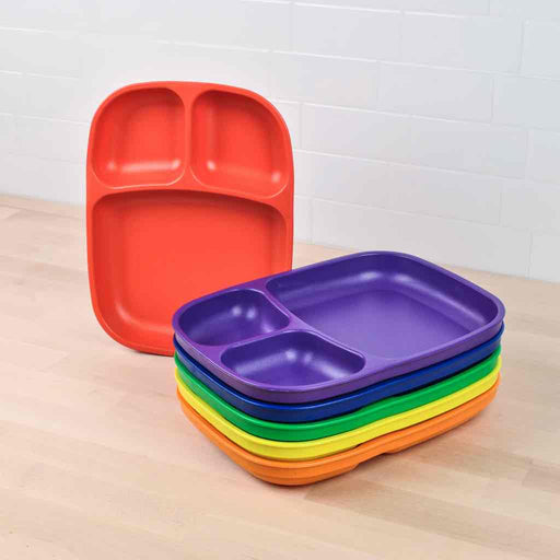 Re-Play Toddler Divided Tray Large