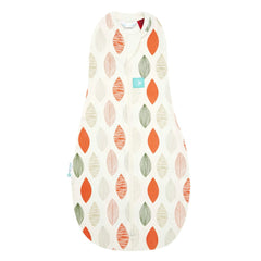 ergoPouch - 1.0 tog Swaddle & Sleep Bag ergoCocoon Autumn/Spring Blush Leaf