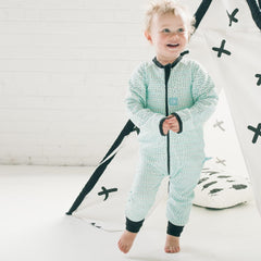 ergoPouch - ergoLayers Sleep Wear 1.0 tog HoneyDew Dot