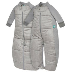 ergoPouch | Sleepsuit Bag Winter 3.5 TOG Grey Print