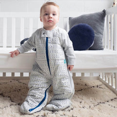 ergoPouch - 2.5 tog Sleepsuit Bag Winter Blue Dot