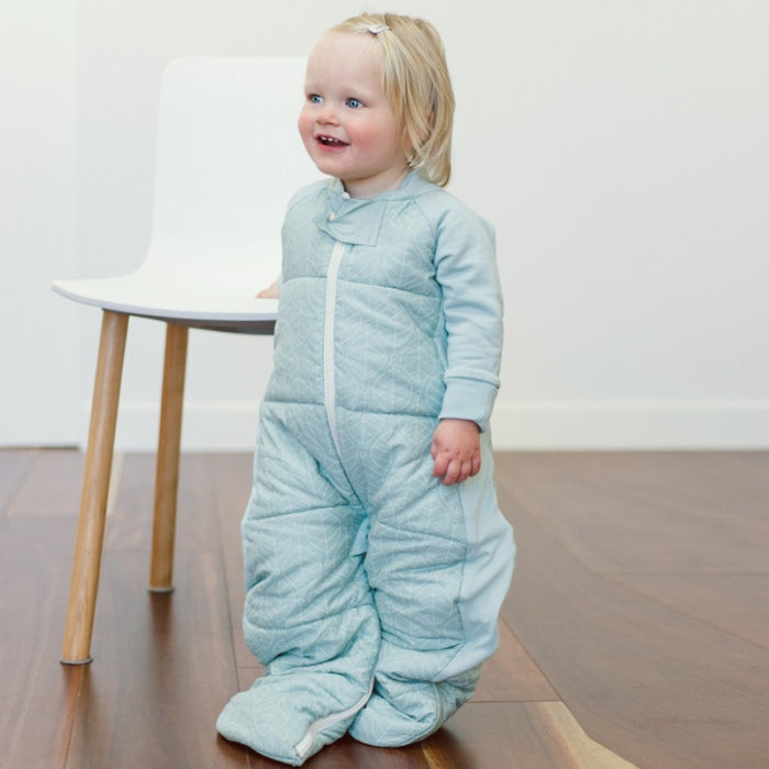 ergoPouch - 3.5 tog Sleep Suit Bag Mint Leaves
