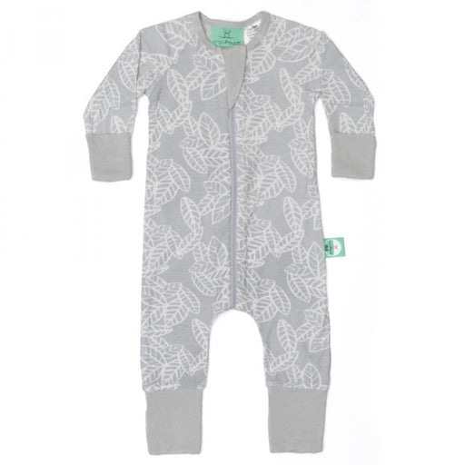 ergoPouch - 1.0 tog Layers Sleep Wear Long Sleeve Rainforest Leaves