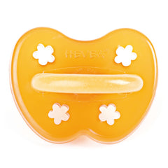 Hevea - Anatomical Pacifier 100% Natural Rubber Flower 3-36M