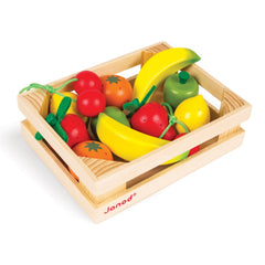 Janod - Wooden Toy 12 Fruits