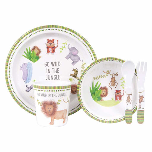 Ashdene 5 Piece Dinner Set Go Wild