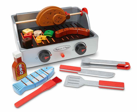 Melissa and Doug - Rotisserie & Grill Barbecue Set